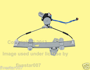 Tsk Front Left Door Power Window Regulator W Motor For Honda Civic Sedan 96 00