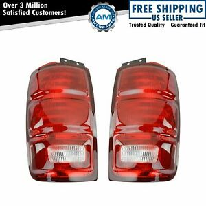 Taillights Taillamps Rear Brake Lights Lamps Pair Set For 97 02 Ford Expedition