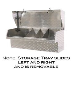 Low Side Mount Truck Tool Box 65 Lo side Toolbox Movable Parts Tray Heavyduty
