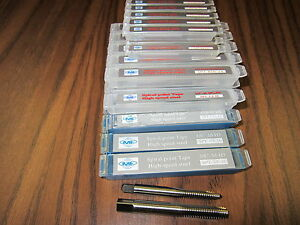 Spiral Point Taps 30pcs Common Sizes Hss Select Your 6 8 10 1 4 5 16 3 8 new