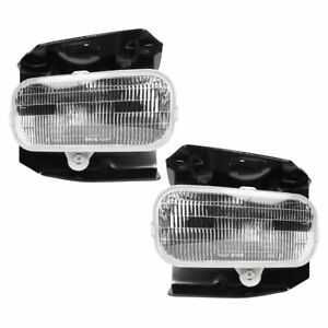 Fog Driving Lights Lamps Pair Set New For Ford Expedition F150 Pickup Truck