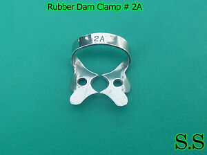 20 Endodontic Rubber Dam Clamp 2a Surgical Dental Instruments