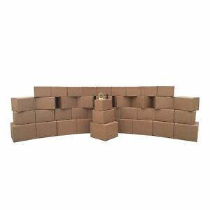 Moving Boxes 3 Room Economy Kit 40 Boxes Packing Supplies