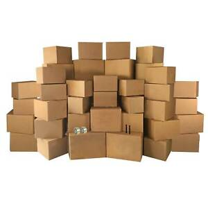 4 Room Economy Kit 50 Moving Boxes Packing Supplies