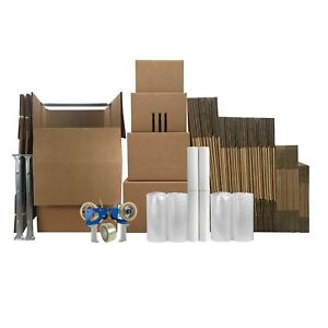 6 Room Wardrobe Kit 65 Moving Boxes 148 In Shipping Supplies