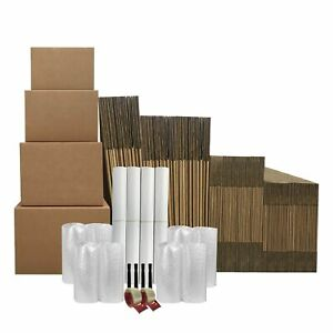 7 Room Basic Moving Kit 103 Moving Boxes 128 In Moving Supplies