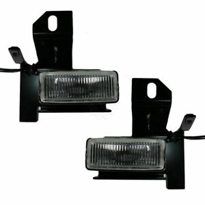 Fog Driving Light Lamp Pair Set For Ford Explorer Pickup Truck F150 Lightning