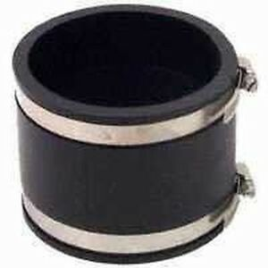 New Lot Of 5 Fernco P1056 88 8 Pvc Rubber Flexible Couplings Usa Made Sale