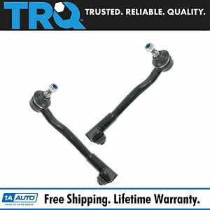 Front Outer Tie Rod Ends Left Right Pair Set For 95 01 Bmw 7 Series E38