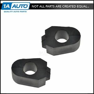 Front Sway Bar Bushing Pair Set Of 2 For Olds Pontiac Buick Chevy