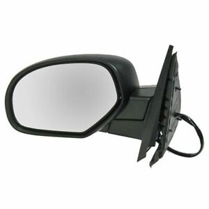 Power Folding Heated Memory Side View Mirror Driver Left Lh For Chevy Gmc Truck