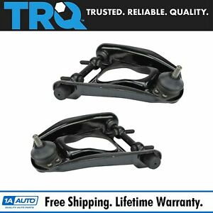 Trq Front Upper Control Arm W Ball Joint Pair Set For Mustang