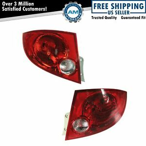 Rear Brake Taillights Taillamps Pair Set For 05 10 Chevy Cobalt Sedan 4 Door