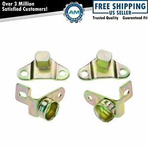 Tailgate Tail Gate Hinges Set Of 4 Kit For Chevy Silverado Hybrid Hummer H2