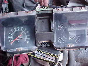 1968 Chevelle Malibu And Ss Super Sport Factory Speed Warning Dash Cluster Rare