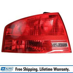 Taillight Tail Lamp 05 06 07 08 Lh Left For Audi A4 S4 Sedan