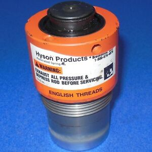 Hyson Model D1x2 1 875 12 Thread Nitrogen Gas Spring Cylinder 20 150 7000 new