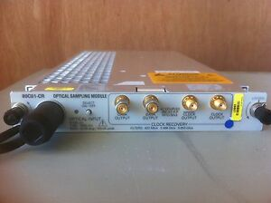 Tektronix 80c01 cr 20ghz Optical With Option