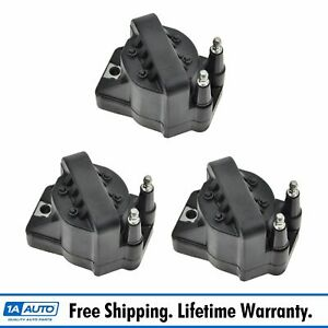 Ac Delco D555 Ignition Coil Set Of 3 Kit For Buick Cadillac Chevy Pontiac Olds