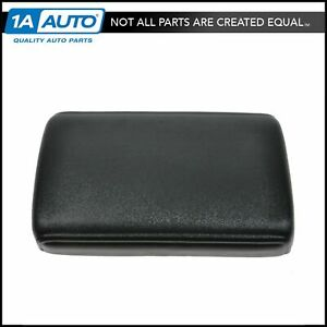 Center Console Lid Cap Cover Overlay Black For 82 88 Chevy Camaro