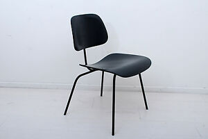 Early Dcm Eames Plywood Chair Metal Frame Jan 1953 Mid Century Herman Miller
