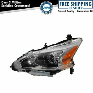 Headlight Head Lamp Halogen Lh Left Driver Side For 13 Nissan Altima Sedan