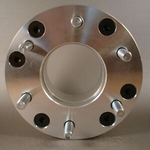 2 Wheel Spacers Adapters 5x5 5 To 6x5 5 2 Thick 5 Lug To 6 Lug