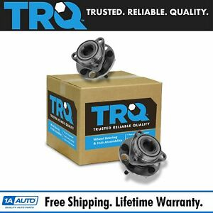 Trq Front Wheel Bearing Hub Set Of 2 Pair New For Chevy Buick Cadillac Olds