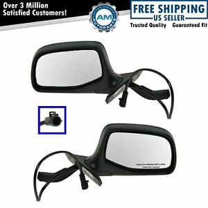 Power Side View Mirrors Left Right Pair Set Of 2 For 93 96 Ford F150 Lightning