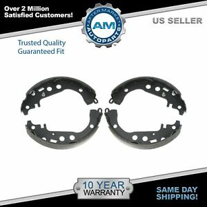 Nakamoto Rear Drum Brake Shoes For 00 04 05 Toyota Prius Celica