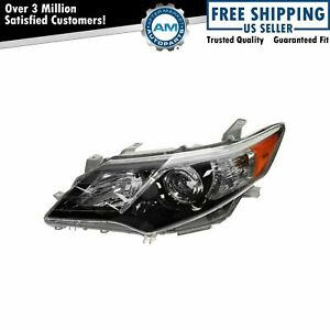 Headlight Headlamp Driver Side Left Hand Lh New For 12 13 Toyota Camry Se