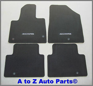New 2013 2019 Hyundai Santa Fe Gls limited xl 7 Pass Carpet Floor Mats Oem