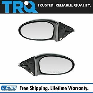 Power Side View Mirrors Left Lh Right Rh Pair Set Of 2 For 99 04 Olds Alero
