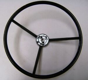1961 1970 Ford Pickup Truck 1960 1963 Falcon Gloss Black Steering Wheel