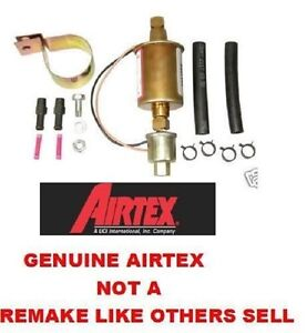 Electric Fuel Pump External Universal In Line 5psi 9psi 30gph 12 Volt Airtex