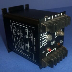 Kanson Electronics Issc 115v 1 5a Programmable Solid State Timer 1013ul 1 h 3 c