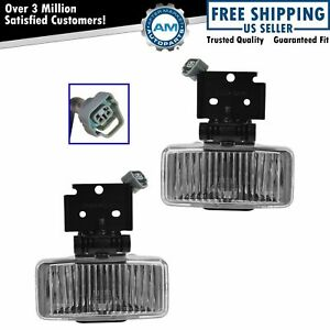 Driving Fog Lights Lamps Pair Set For 97 98 Jeep Grand Cherokee