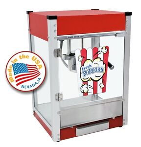 Paragon Cineplex 4 Ounce Popcorn Machine red 1104800