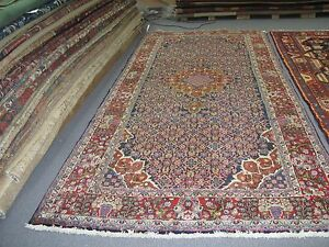 Semi Antique Bijar Persian Finely Hand Knotted Wool Gallery Rug 5 4 X 11 6