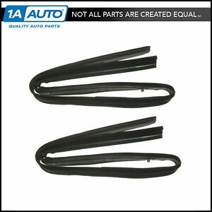 Front Upper Glass Run Channel Seals Pair Set For Dodge D W Series Pickup Truck