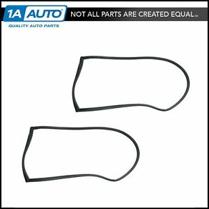 Rear Door Weatherstrip Seals For Buick Chevy Oldsmobile Pontiac