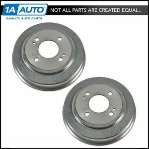 Rear Brake Drum Left Lh Right Rh Pair Set Of 2 For Honda Accord Civic Fit