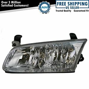 Headlight Headlamp Driver Side Left Lh New For 00 01 Toyota Camry