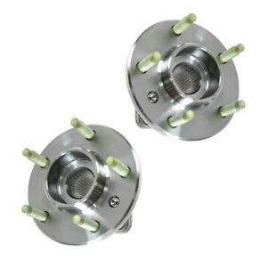 Ac Delco Fw293 Front Wheel Hub Bearing Pair Set W Abs For Chevy Pontiac Buick