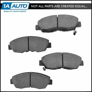 Nakamoto Front Premium Posi Ceramic Brake Pad Left Right Kit For Honda Acura