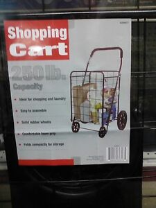Apex Shopping Cart 250 Lb Capacity New sc9014