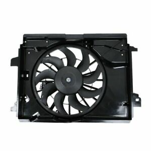 Radiator Cooling Fan Blade Motor Shroud 15819952 For Chevy Corvette Cadillac Xlr