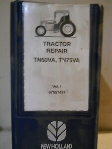 New Holland Tn60va Tn75va Tractor Service Repair Manual
