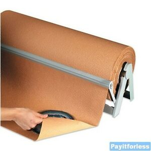 36 X 300 Kraft 60 Indented Kraft Wrapping Void Fill Paper Wrap 1 Roll