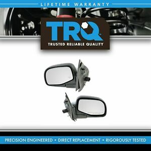Power Heated Side View Mirrors Pair Set For 02 05 Explorer Mountaineer
